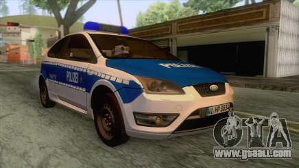 Ford Focus ST Polizei Hessen for GTA San Andreas