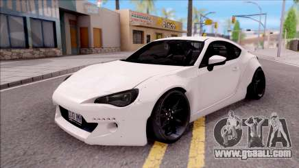 Subaru BRZ Rocket Bunny 2013 for GTA San Andreas