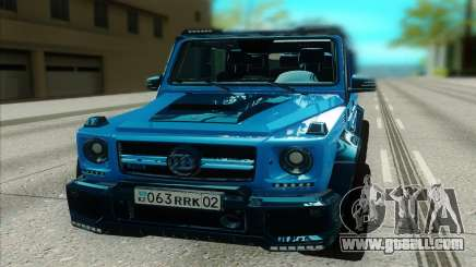 Mercedes-Benz G63 Brabus for GTA San Andreas