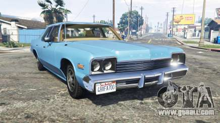 Dodge Monaco 1974 v2.0 [replace] for GTA 5