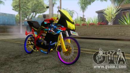 Kawasaki Ninja 250R Karbu Thailook for GTA San Andreas