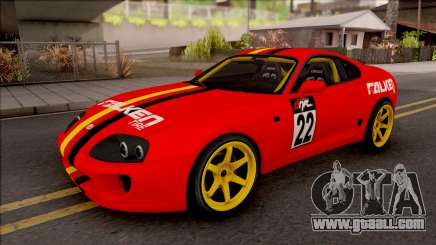 Toyota Supra Drift Falken Germany for GTA San Andreas