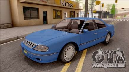 GTA IV Willard Solair Sedan IVF for GTA San Andreas
