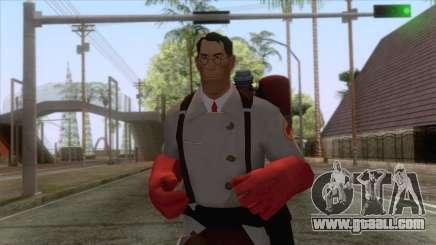 Team Fortress 2 - Medic Skin v2 for GTA San Andreas