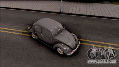 Volkswagen Beetle 1969 for GTA San Andreas right view