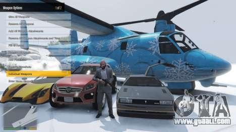 GTA 5 Enhanced Native Trainer Update 36