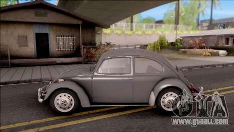 Volkswagen Beetle 1969 for GTA San Andreas left view