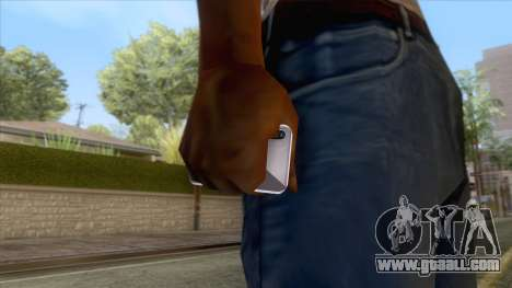iPhone X Black for GTA San Andreas third screenshot