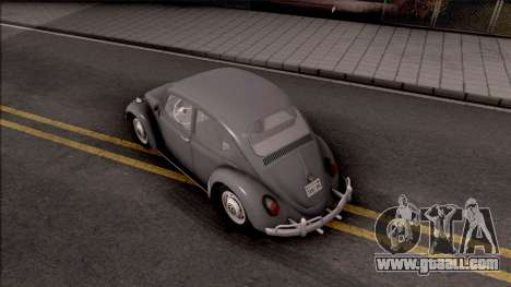 Volkswagen Beetle 1969 for GTA San Andreas back view