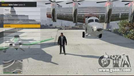 GTA 5 Enhanced Native Trainer Update 36 second screenshot