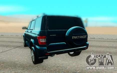 UAZ Patriot for GTA San Andreas