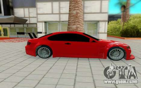 BMW M3 GTS for GTA San Andreas left view