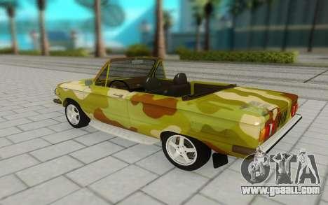 ZAZ 968M for GTA San Andreas