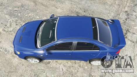 Mitsubishi Lancer Evolution X [replace]
