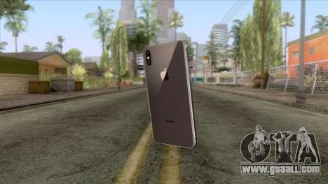 iPhone X Black for GTA San Andreas second screenshot