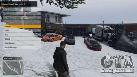 GTA 5 Enhanced Native Trainer Update 36 third screenshot