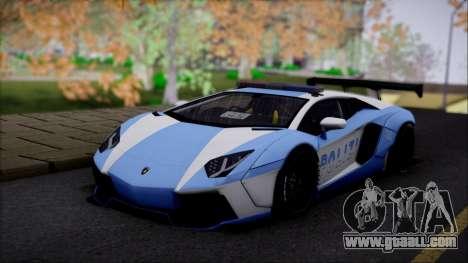 Lamborghini Aventador v2 for GTA San Andreas