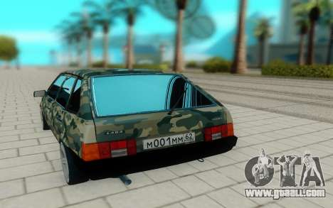 Two thousand one hundred nine for GTA San Andreas back view