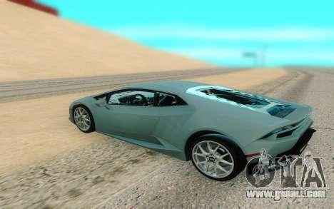 Lamborghini Huracan for GTA San Andreas