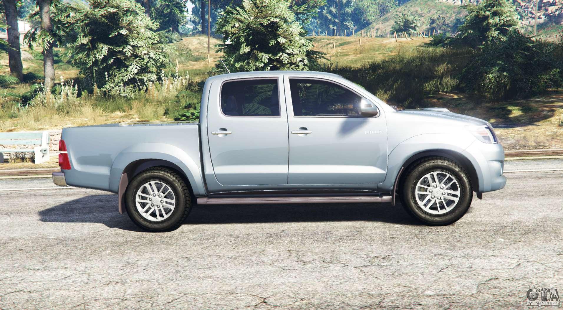 Bravado Bison Gta 5 Toyota Hilux Double Ca...