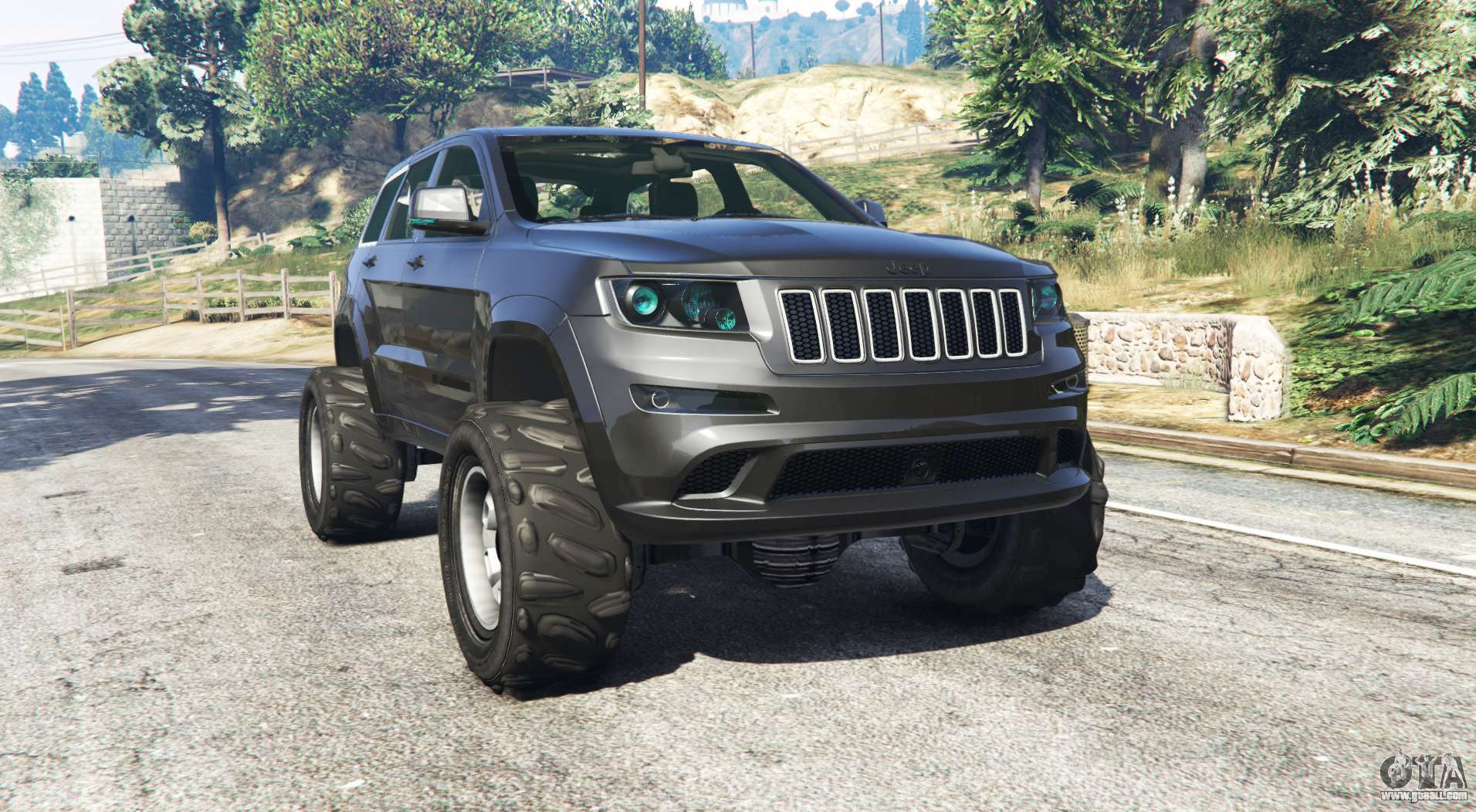 jeep grand cherokee srt8 2013 v0 5 replace for gta 5. Black Bedroom Furniture Sets. Home Design Ideas