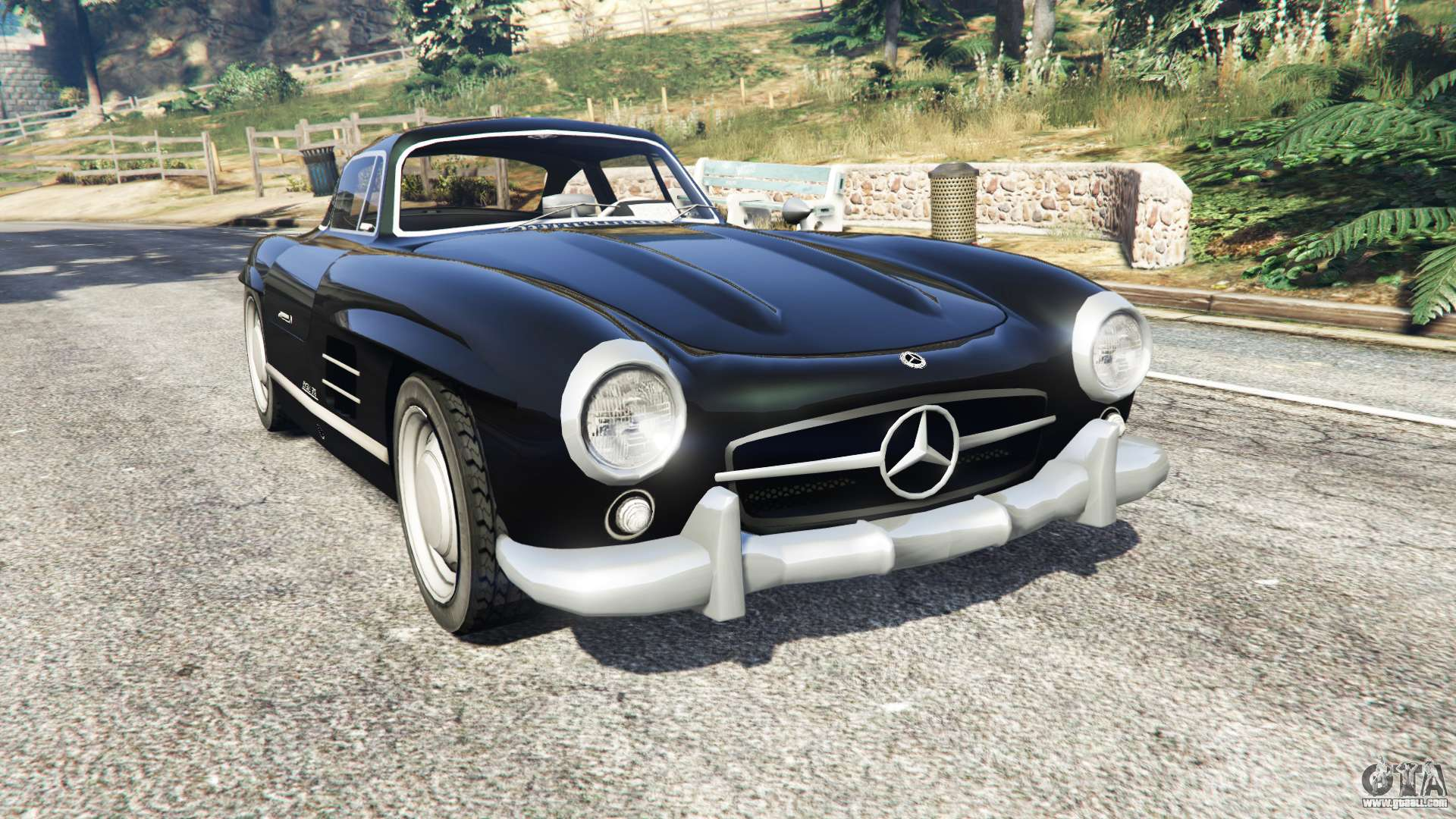 mercedes benz 300 sl w198 1954 replace for gta 5. Black Bedroom Furniture Sets. Home Design Ideas