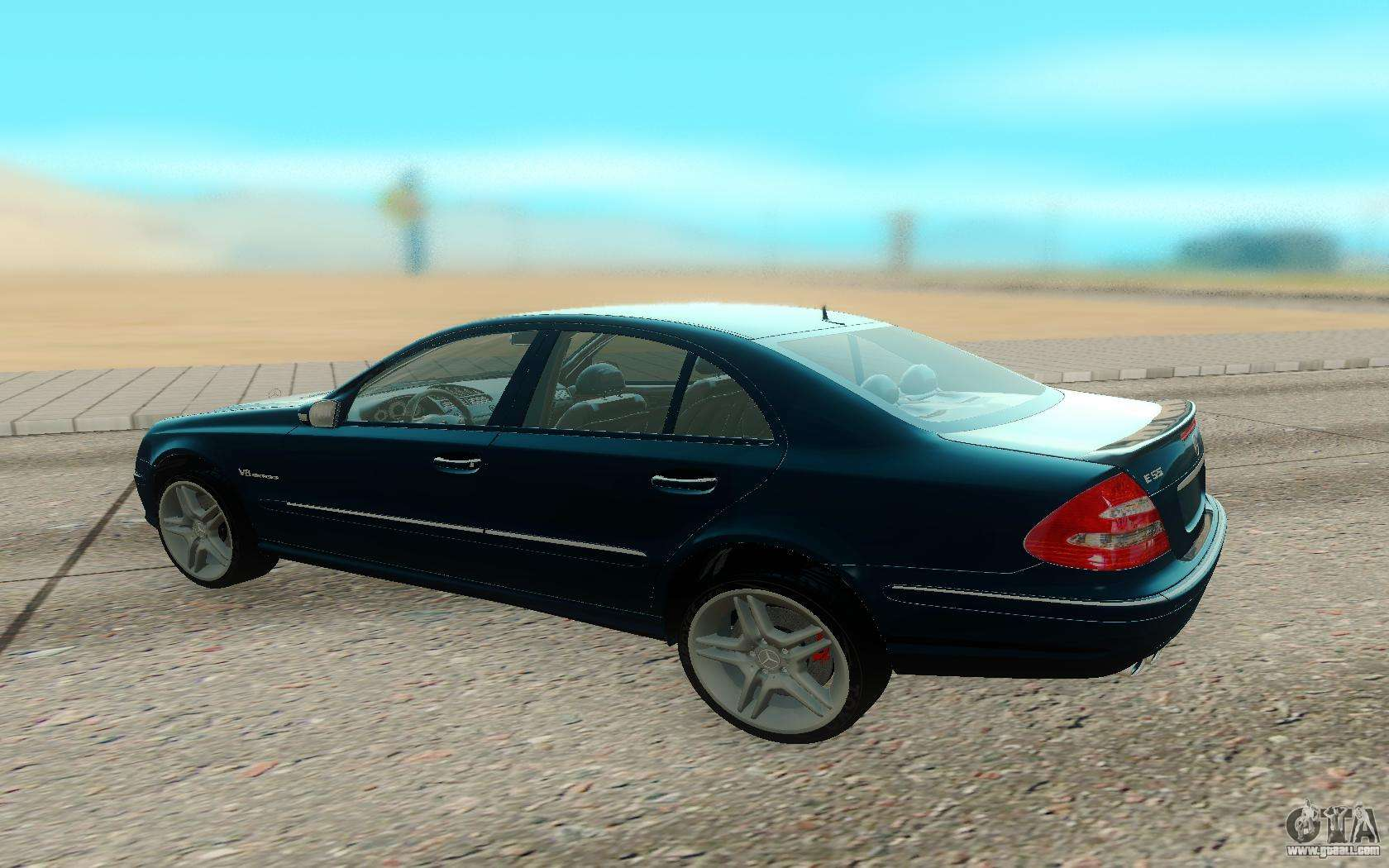 Mercedes benz e55 w211 amg for gta san andreas for Mercedes benz 55 amg