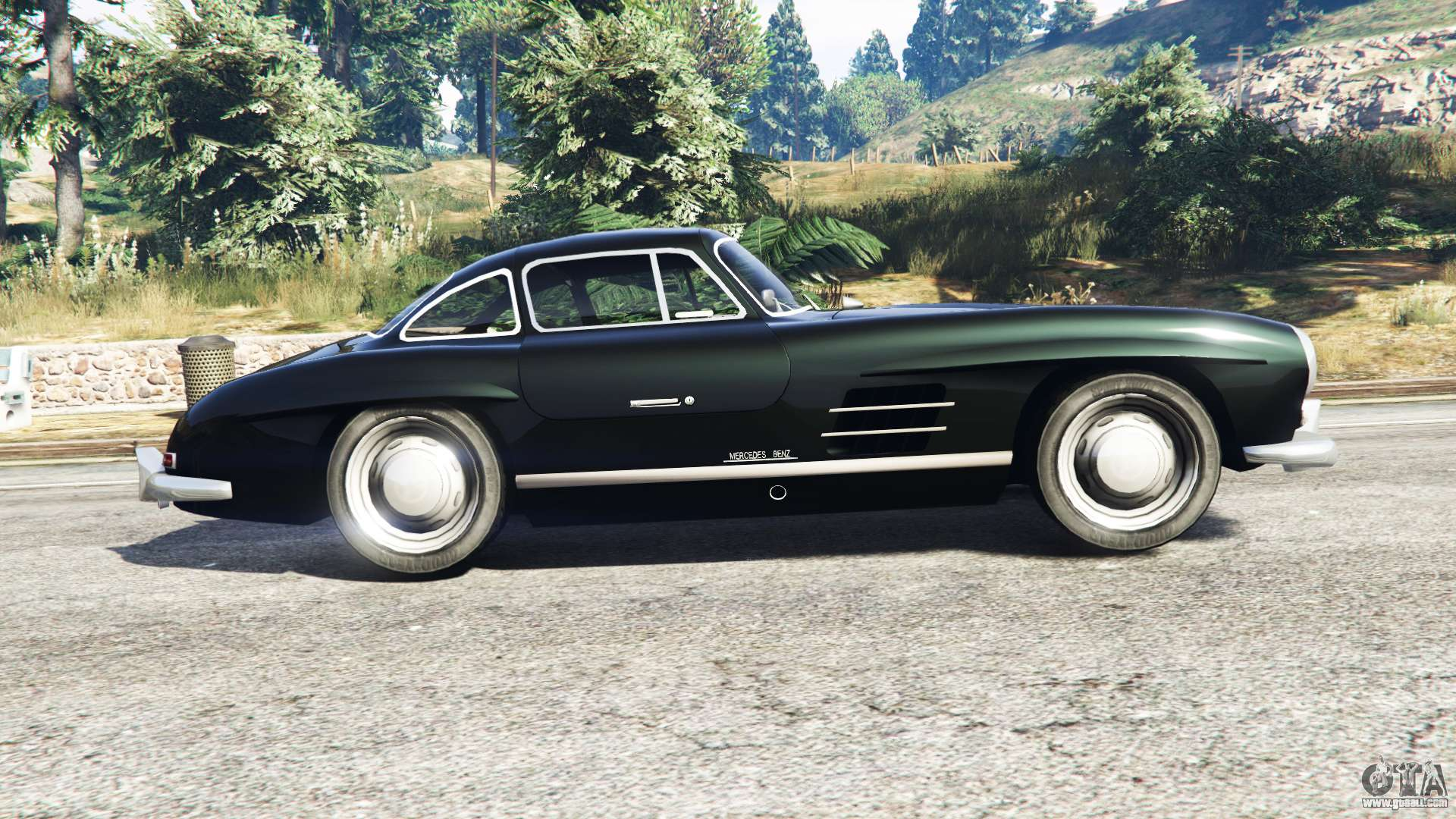 Mercedes benz 300 sl w198 1954 replace for gta 5 for 1954 mercedes benz 300sl
