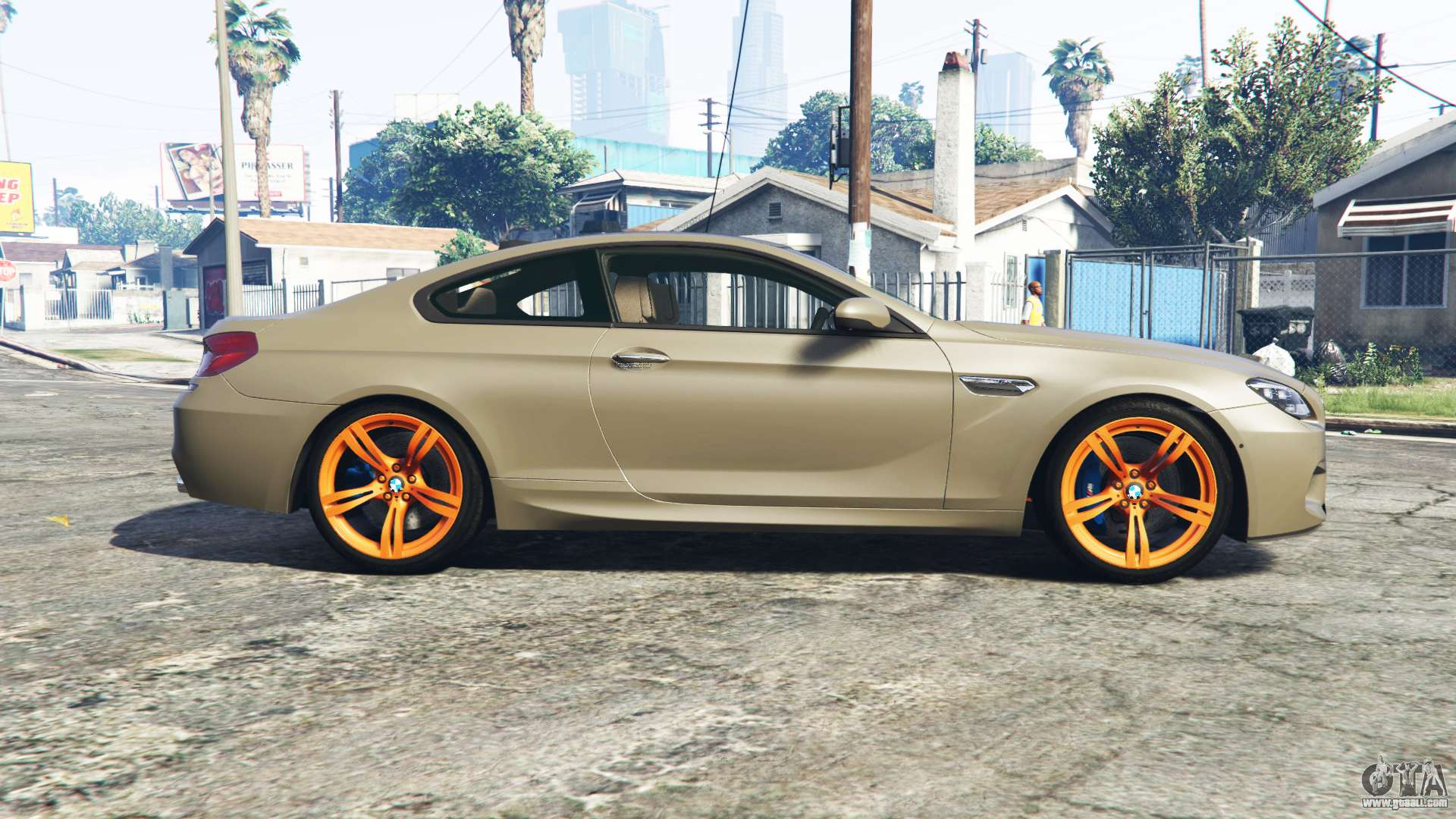 bmw m6 coupe f13 replace for gta 5. Black Bedroom Furniture Sets. Home Design Ideas