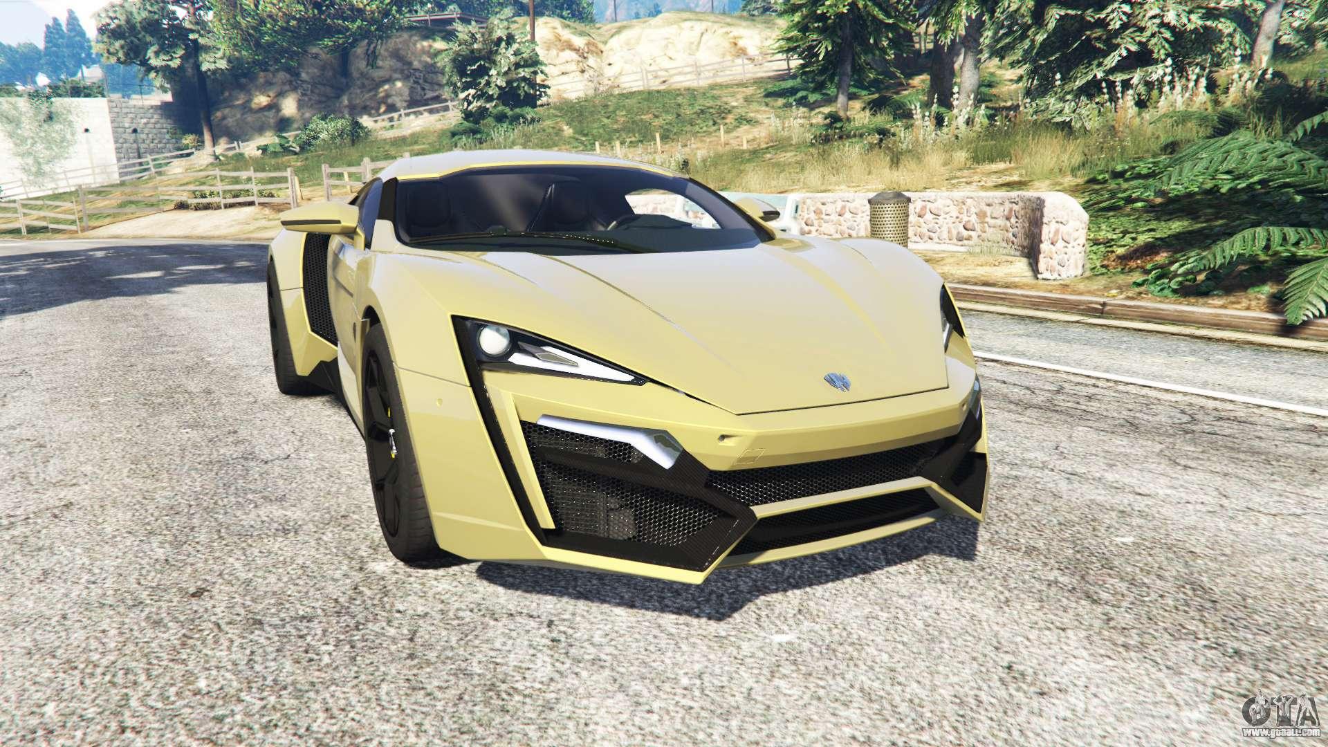 W Motors Lykan HyperSport 2014 v1 3 [add-on] for GTA 5