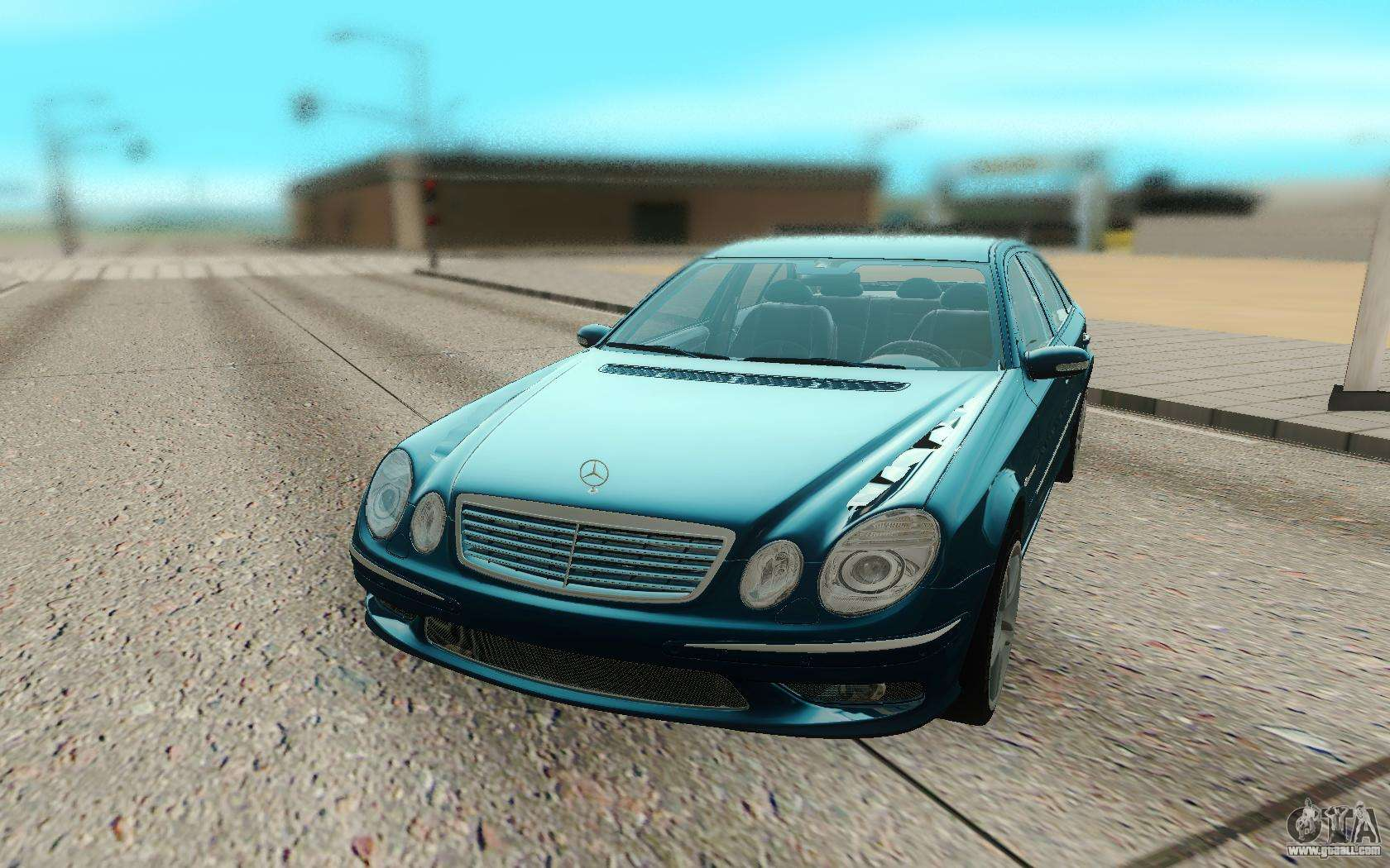 mercedes benz e55 w211 amg for gta san andreas. Black Bedroom Furniture Sets. Home Design Ideas