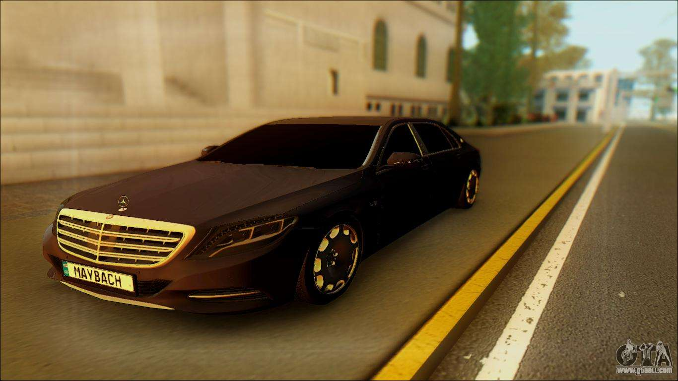 Mercedes benz maybach for gta san andreas for Maybach mercedes benz