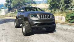 Jeep Grand Cherokee SRT8 2013 v0.5 [replace] for GTA 5