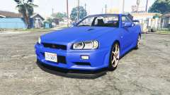Nissan Skyline GT-R (BNR34) [add-on] for GTA 5