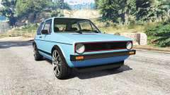 Volkswagen Golf GTI Mk1 [replace] for GTA 5