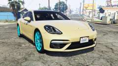 Porsche Panamera Turbo (971) 2017 [replace] for GTA 5