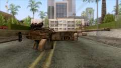 FN Minimi with ACOG Sights for GTA San Andreas