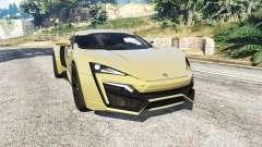 W Motors Lykan HyperSport 2014 v1.3 [add-on] for GTA 5