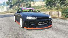 Nissan Skyline (R34) 2002 [replace] for GTA 5