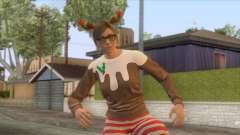 Festive Surprise DLC Female Skin for GTA San Andreas