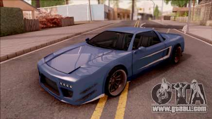 BlueRay Infernus Deoxys for GTA San Andreas