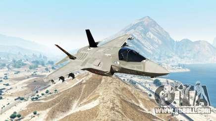 Lockheed Martin F-35B Lightning II [replace] for GTA 5