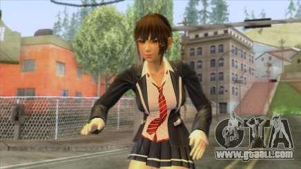Misami Schoolgirl for GTA San Andreas