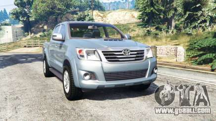 Toyota Hilux Double Cab 2012 [replace] for GTA 5