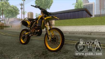 Yamaha YZF-250 Motocross for GTA San Andreas