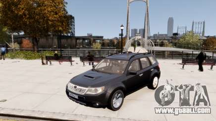 Subaru Forester 2008 Karelian Edition for GTA 4