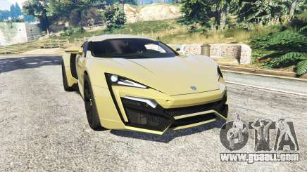 W Motors Lykan HyperSport 2014 v1.3 [add-on] for GTA 5