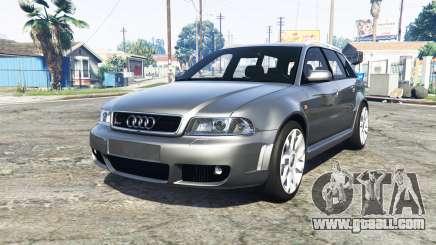 Audi RS 4 Avant (B5) 2001 v1.2 [add-on] for GTA 5