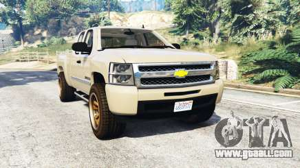 Chevrolet Silverado 1500 LT v0.5 [replace] for GTA 5
