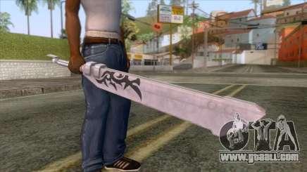 Final Fantasy Mobius - Blank Sword for GTA San Andreas